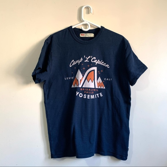 "Levi Strauss & Co. Camp ""L"" Capitan Graphic Shirt"